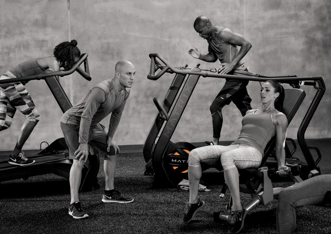 Высокоинтенсивные интервальные тренировки (HIIT) от MATRIX. Здоровье и эмоции.