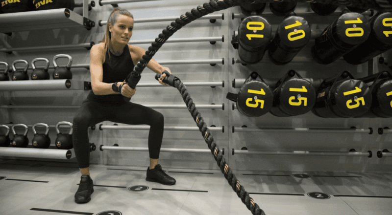 Канаты для кроссфита какие мышцы работают?