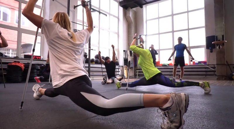 Функциональная тренировка, кроссфит, Игорь Ким - рекодсмен Гиннеса - YouTube